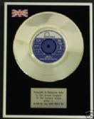 "DAVE DEE DOZY BEAKY--- 7"" Platinum Disc - BEND IT"